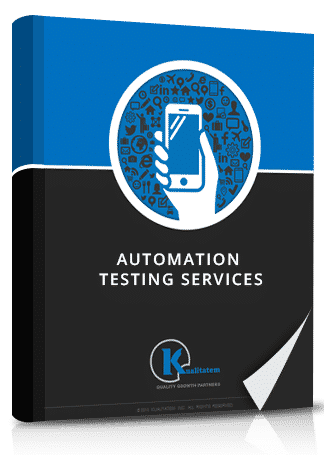 Automation testing services book image