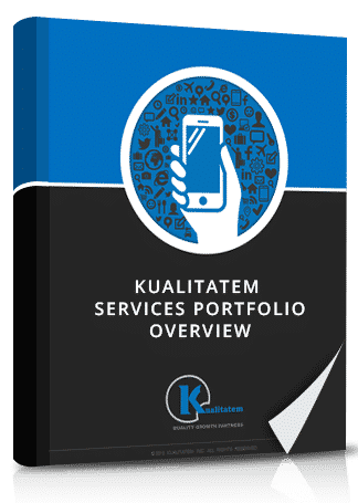 kualitatem services portfolio overview book image