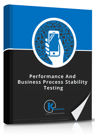 Performance And business process stability testing book image