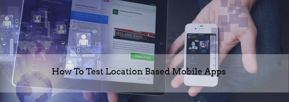 Location based mobile apps