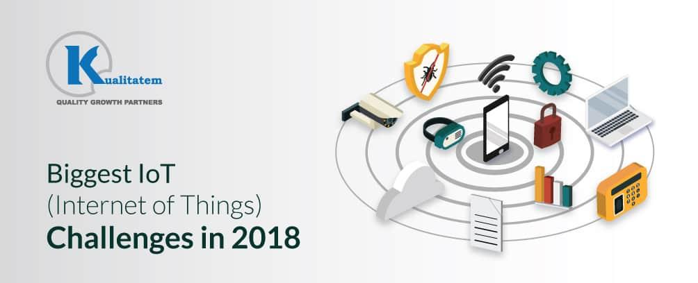 Biggest IOT challenges in 2018
