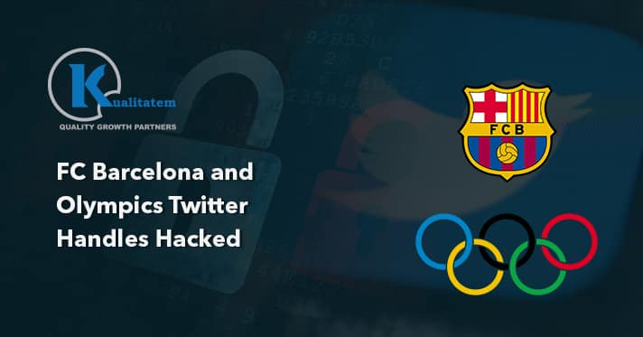 Olympics Twitter Handles Hacked