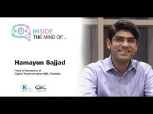 Digital Transformation Interviews by Kualitatem Hamayun Sajjad Head of Innovation @ UBL