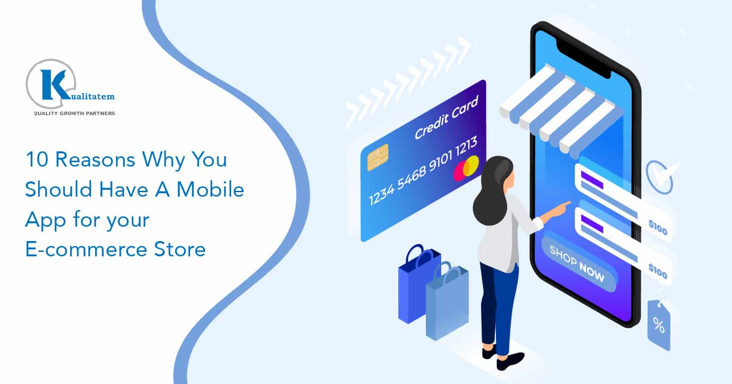 Mobile App for your E-commerce Store